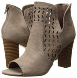 Madden Girl Women's Bright Ankle Boot, Dark Taupe, 7 M US