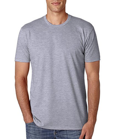 Next Level Men's NL6210 CVC Crew, Dark Heather Grey, Medium