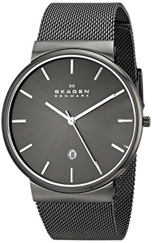 Skagen Men's SKW6108 Ancher Grey Mesh Watch