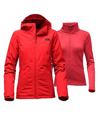 The North Face Women's Highanddry Triclimate Jacket (X-Large, High Risk Red)