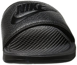 Nike Men's Benassi Just Do It Slide Sandal, Black, 12D(M) US