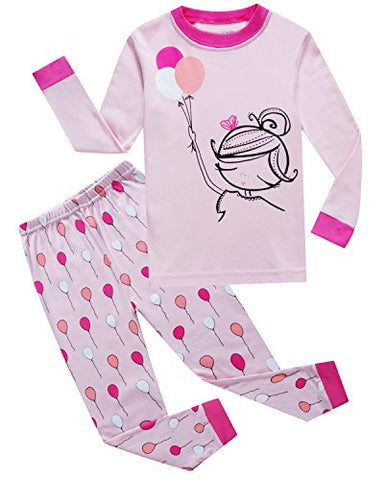 Family Feeling Pjs Big Girls' Sleepwears Pajamas Sets Clothes Size 10 Years