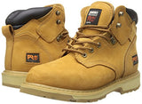 "Timberland PRO Men's Pitboss 6"" Steel-Toe Boot,Wheat,8.5 M"