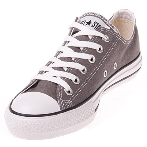 Converse Unisex Chuck Taylor All Star Low Top Charcoal Sneakers - 9.5 D(M) US