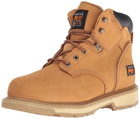 "Timberland PRO Men's Pitboss 6"" Steel-Toe Boot,Wheat,11.5 M"