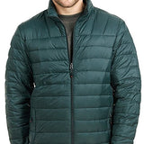 Hawke & Co Men's The Manhattanite Lightweight Packable Down Jacket, Pine, Small
