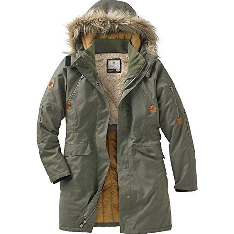 Legendary Whitetails Ladies Anchorage Parka Army Large
