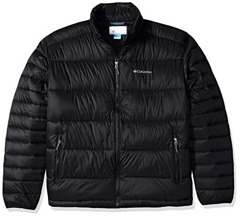 Columbia Men's Big & Tall Frost Fighter Jacket, Black, 2X/Tall