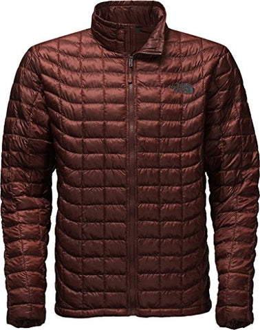 The North Face Mens ThermoBall Full Zip Jacket,Sequoia Red,US M