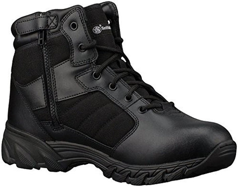"Smith & Wesson Breach 2.0 Men's Tactical Side-Zip Boots (12, 6"" Black)"