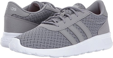 adidas NEO Women's Lite Racer W, Grey Three/Grey Three/Matte Silver, 7.5 Medium US