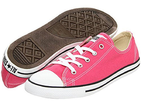 CONVERSE Womens Chuck Taylor All Star Dainty Fashion Sneaker Shoe, Pink, 10
