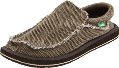 Sanuk Men's Chiba Slip-On, Brown, 11 M US