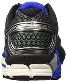 Brooks Men's Adrenaline GTS 17 Anthracite/Eletric Brooks Blue/Silver Running Shoe 11 Men US