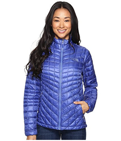 The North Face Women's Thermoball Full Zip Jacket (Medium, Amparo Blue)