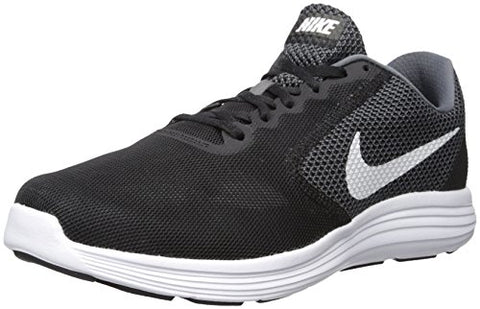 Nike Men's Revolution 3 Running Shoe, Grey/Black, 9 M US
