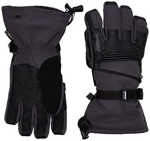 Gordini GTX Storm Trooper II Glove - Mens Gunmetal / Black Large