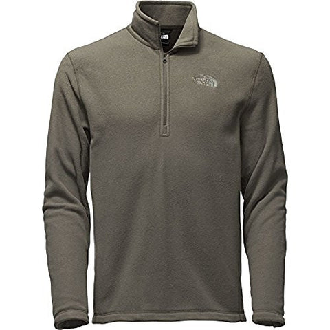 The North Face Tka 100 Glacier 1/4 Zip Men's Fusebox Grey 3X-Large