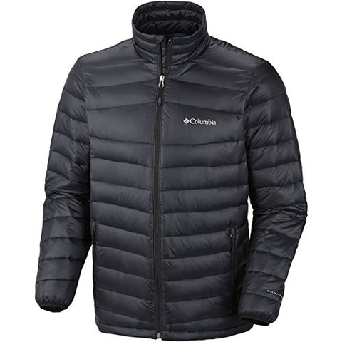 Columbia Men's Platinum 860 TurboDown Down Jacket, Large, Black