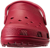 crocs Unisex Classic Clog,Pomegranate,9 M US Men's / 11 M US Women's