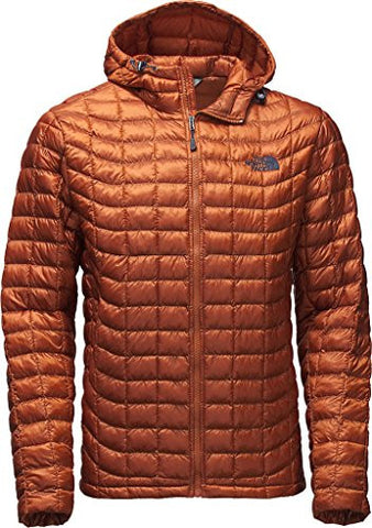 The North Face Men's ThermoBall Hoodie,Gingerbread Brown,US XL