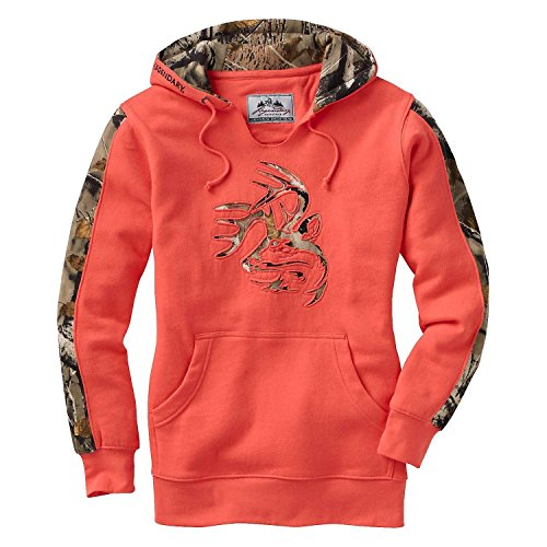 Heavyweight Pigment-Dyed Hooded Sweatshirt with/Dachshund Brown Silhouette