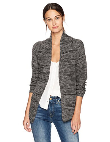 NIC+ZOE Women's Thick and Thin Cardy, Lichen, M