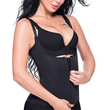 Waist Trainer Corset Cincher Women Body Slimmer Tummy Control Shapewear with Adjustable Straps (L)
