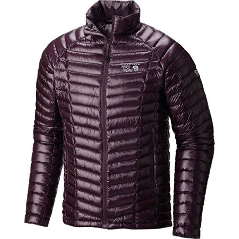 Mountain Hardwear Men's Ghost Whisperer Down Jacket, Eggplant, XL