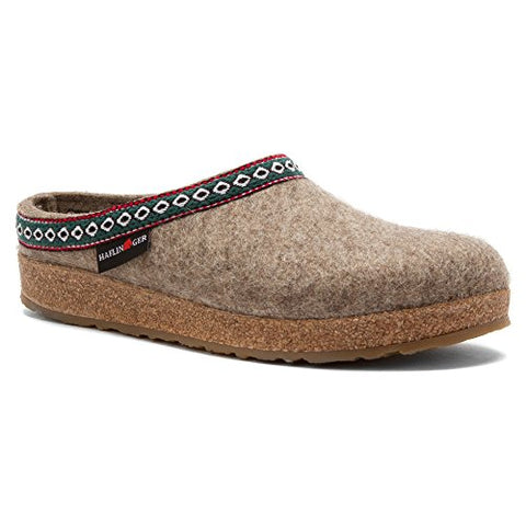Haflinger Unisex GZ Classic Grizzly Earth Clog/Mule