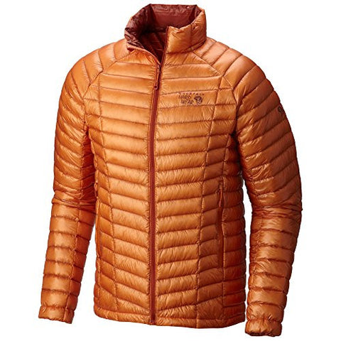 Mountain Hardwear Ghost Whisperer Jacket - Men's Orange Copper Small