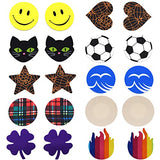 10 Pairs Cosfan Women Sexy Charming Funny Disposable Pasties Nipple Cover Lingerie on Bra