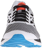 ASICS Men's Gel-Cumulus 18 Running Shoe, White/Silver/Black, 9.5 M US