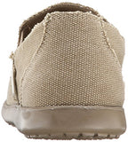 Crocs Men's Santa Cruz Slip-On Loafer,Khaki/Khaki,10 (D)M US