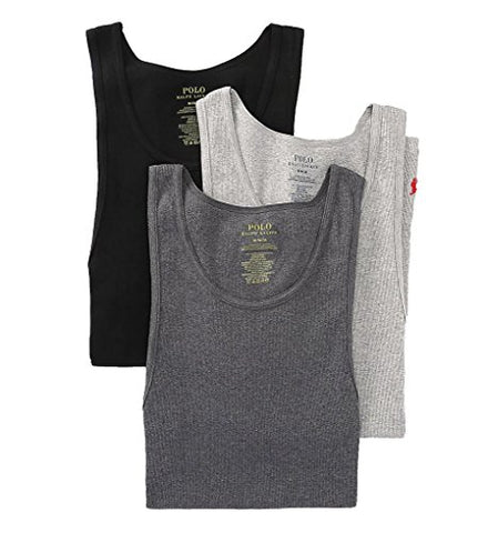Polo Ralph Lauren  Men's 3-Pack Tank Top Andover Heather Tank Top