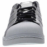 adidas Originals Men's Superstar, Silvmt,Silvmt,Ftwwht, 11 Medium US