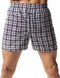 Hanes Men's TAGLESS Tartan Boxers Comfort Flex Waistband 5-Pack_Assorted_X-L