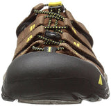 KEEN Men's Newport h2 Sandal, Dark Earth/Acacia, 13 M US