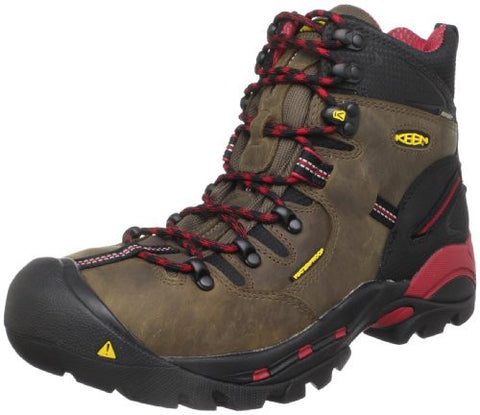 KEEN Utility Men's Pittsburgh Steel Toe Work Boot,Bison,12 EE US