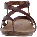 Blowfish Women's Granola Fisherman Sandal, Whiskey Dyecut PU, 9 M US