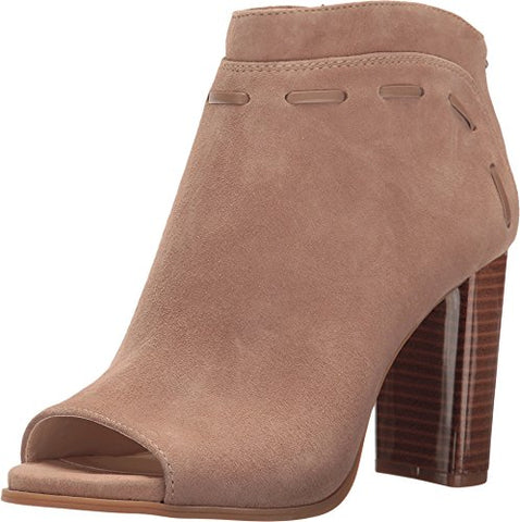 Nine West Women's Pinnow Suede Fashion Boot, Dark Natural/Natural Suede, 7 M US