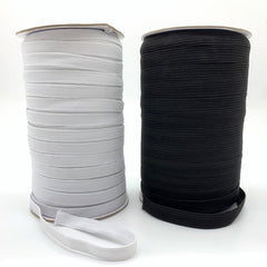 5Yards/Lot 3/6/8/10/12Mm White/Black High Elastic Sewing Elastic Band Fiat Rubber Band Waist Band Stretch Rope Elastic Ribbon