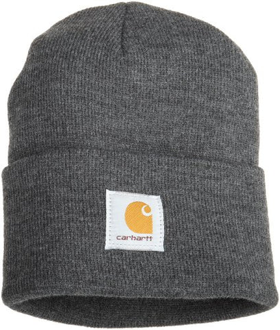 Carhartt Men's Acrylic Watch Hat,Coal Heather,One Size