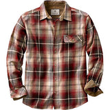Legendary Whitetails Buck Camp Flannels Brick Plaid X-Large