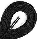 OrthoStep Round Dress Thin Black 45 inch Shoelaces 2 Pair Pack