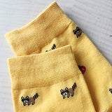 Chalier 5 Pairs Womens Cute Animal Socks Colorful Funny Casual Cotton Crew Socks,Style 01,Free size