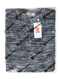 H2H Mens Long-Sleeve Henley Lightweight Pullover Marble Color Sweater NAVY US 2XL/Asia 3XL (CMOSWL019)