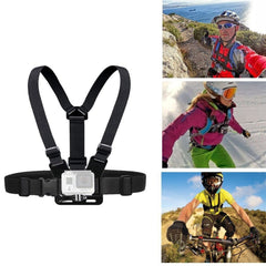 Chest Strap Mount Belt For Gopro Hero 8 7 6 5 Xiaomi  4K Action Camera Chest Mount Harness For Gopro Sjcam Sj4000 Sport Cam Fix