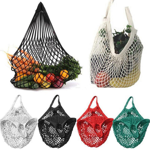 Hot Sale Shopping Mesh Bag Women New Mesh Net Turtle Bag String Shopping Bag Reusable Fruit Storage Handbag Totes Convenient Bag