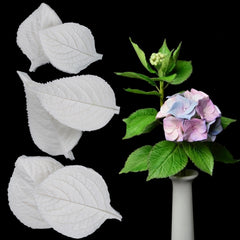Hydrangea Leaves Silicone Mold Fondant Mould Cake Decorating Tools Chocolate Gumpaste Mold, Sugarcraft, Kitchen Accessories